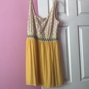 Aztec pattern dress, Kohl's